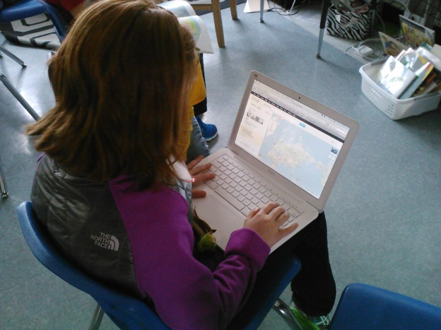 Sammy uses Google to help us figure out Ms. Turken's location.