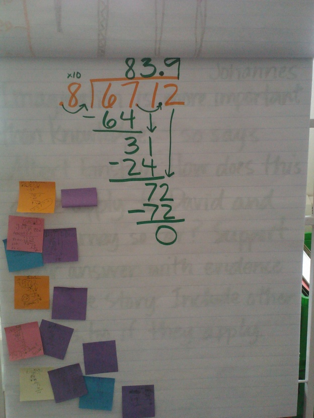 5th graders always need to practice division!