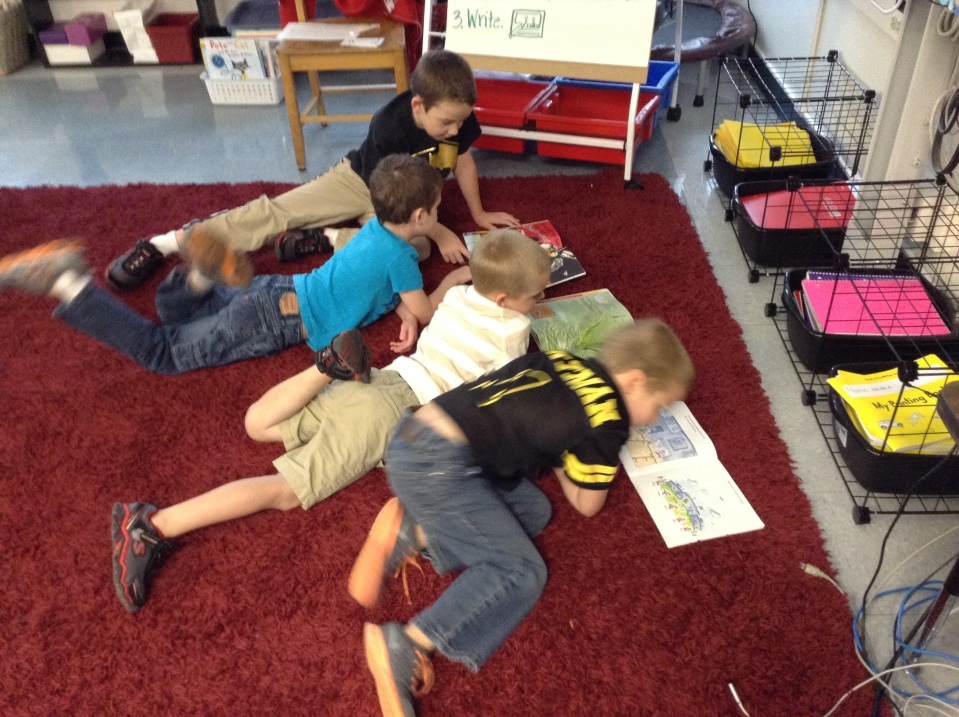 Love seeing friends sharing books together. :)