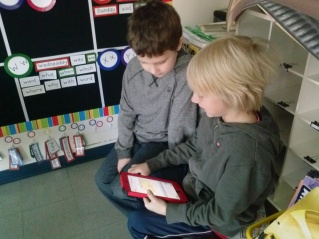 Evan and Joshua chose to tell blog readers about PE and why they like it.