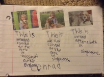 Ella Marie found some important photos at home and wrote about what they made her remember.