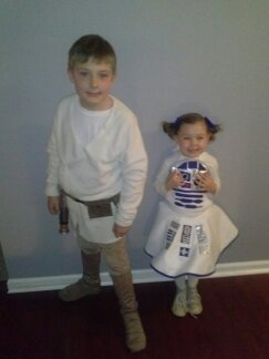 Luke and his droid. :)
