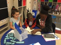 Ms. Clay read with Mkahi and Makenna.